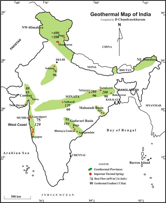 hydrothermal_region_of_India